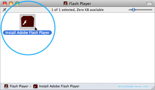 Install Flash on macOS - WhatIsMyBrowser com
