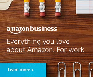 Everything you love about Amazon. For your business.