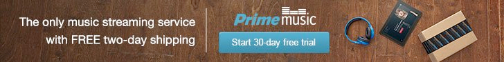 Join Amazon Prime Music - The Only Music Streaming Service with Free 2-day Shipping - 30-day Free Trial